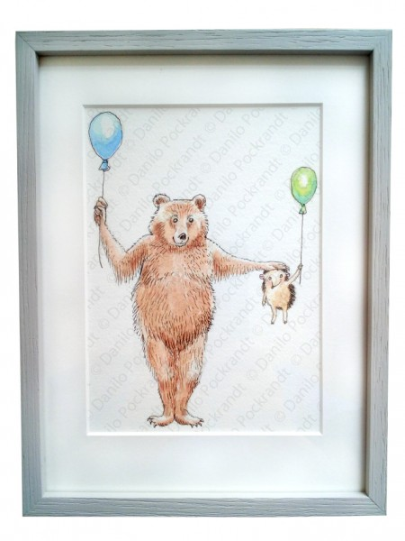Bär und Igel