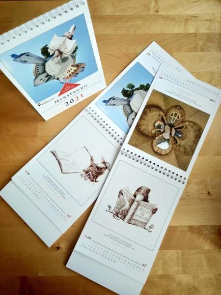 Merseburger Tischkalender 2021 - Kunstprojekt FoKus (Motivwendekalender)