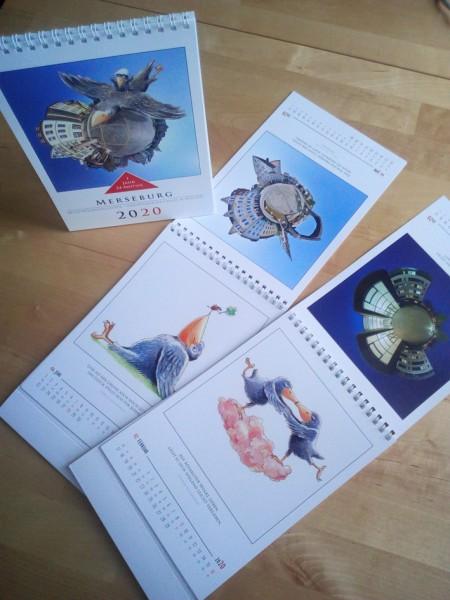 Merseburger Tischkalender 2020 - Kunstprojekt FoKus (Motivwendekalender)